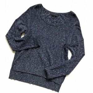 rag & bone Knit Blue Wool Blend Sweater Top :285